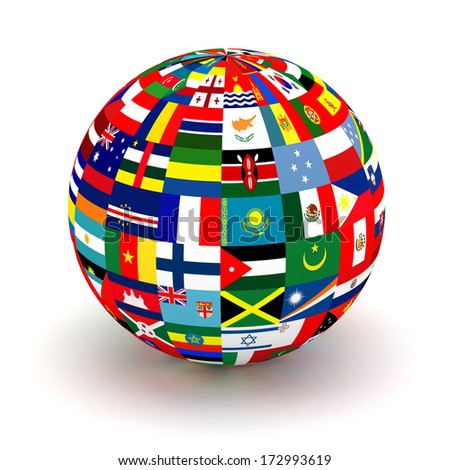 Royalty free flags globe vector sphere with flags 119419429 stock planet flags 3d 172993619 freerunsca Image collections