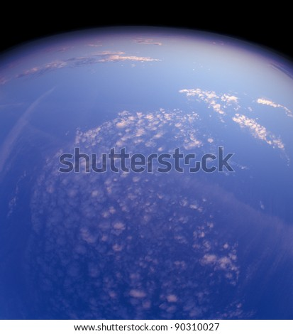 Planet in space. Please see some similar pictures from my portfolio.