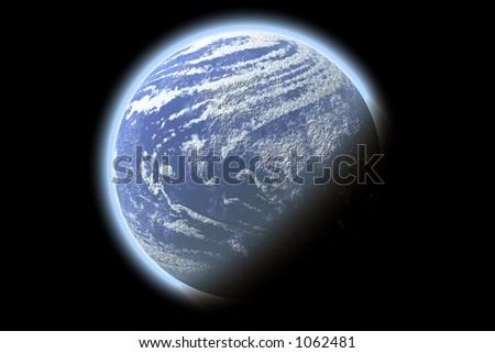 Planet X - stock photo