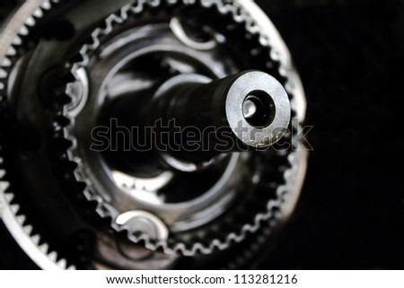 planetary gear close-up