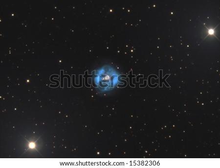 Planetary Nebula in Taurus