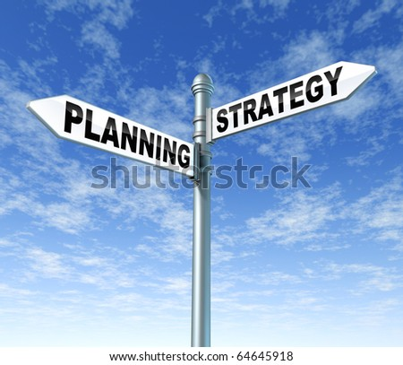 planning strategy signpost direction