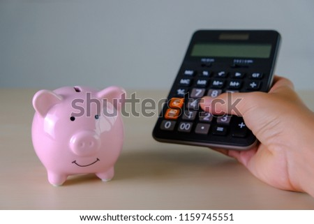 Planning to savings money for future, Calculating savings for the future,calculate your life time savings for the monthly deposits