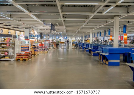 Plano, Texas December 20 2018. taken at the Ikea store in Plano Texas. Beside the check out counters where buyers can pay #1571678737