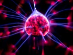 Plasma Ball Close Up