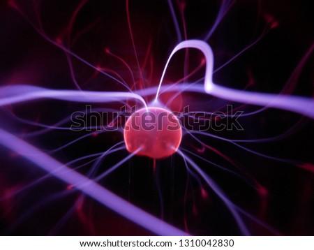 plasma in a plasma ball #1310042830