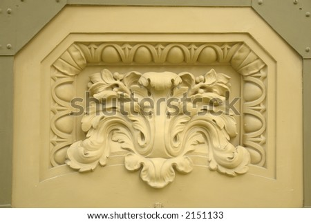 plaster decorations stock photo 2151133 shutterstock plaster ...