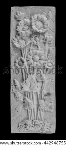 Plaster painting, vase, sculpture,… Stock Photo 442909030