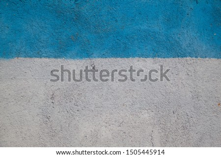 Plaster stripe white stripe blue textured, abstract background #1505445914