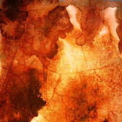 Plaster wall crack pattern sesame vintage red stain color