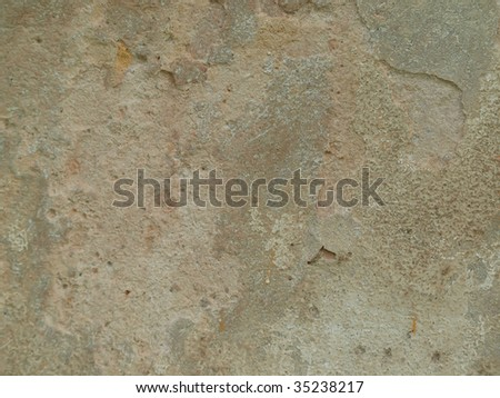 Plaster wall texture detail - stock photo