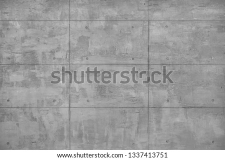 Plastered decorative beton wall as full frame background. Stockfoto ©