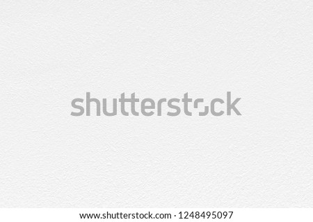 Plastering brick wall painted by paper white color can be use as wall paper or texture background of white color.  #1248495097