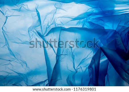 Plastic bag texture an abstract background - texture  ストックフォト ©