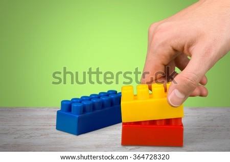 Plastic Block. #364728320