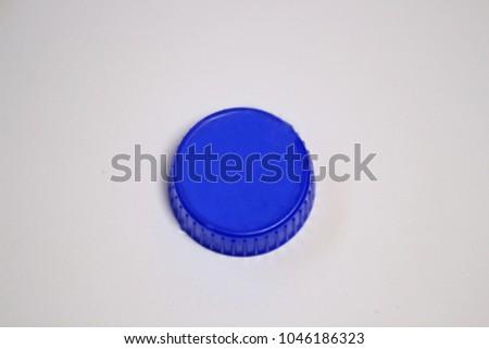 plastic blue plug  #1046186323
