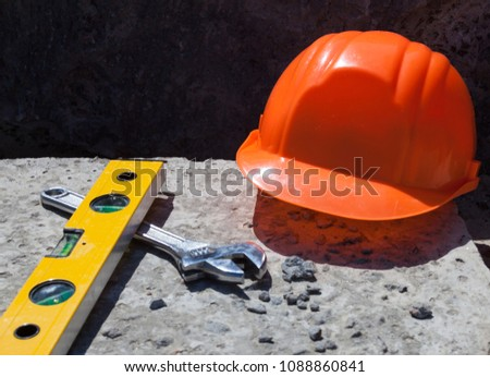 61d15d93735 Plastic hard hat (construction helmet
