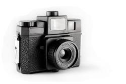 Plastic lens camera