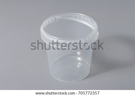 Plastic packaging for food storage