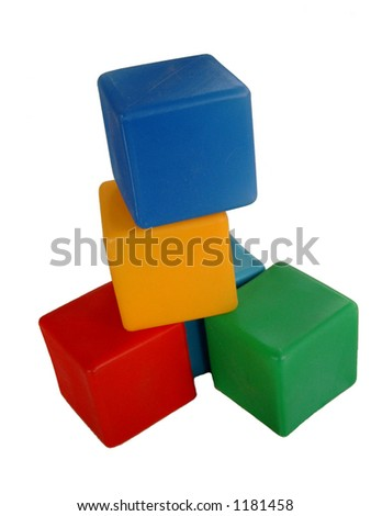 Plastic play blocks
