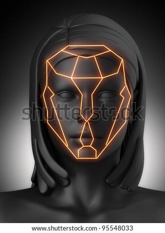Plastic surgery beauty proportion lines