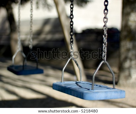 Plastic swings