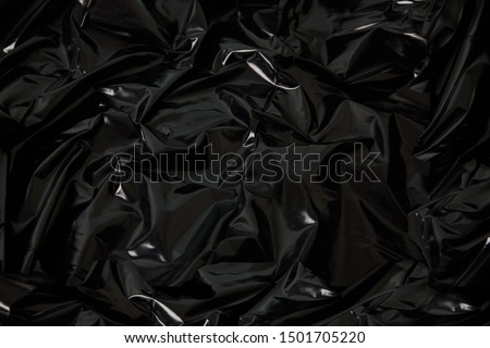 plastic texture materials crumpled dark stock photo