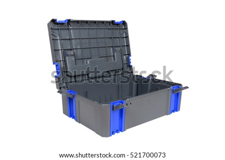 Plastic tool box on white background. #521700073