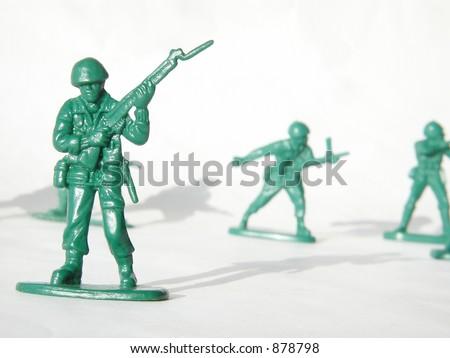 plastic toy army men