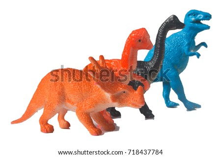 Plastic toy dinosaur  #718437784