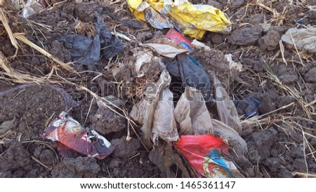 Plastic waste that cannot be broken down by soil, becomes pollution that damages the environment
