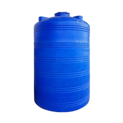 Plastic Water Tank isolated on white background with clipping path