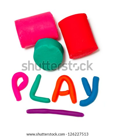 "plasticine ""play"" word"