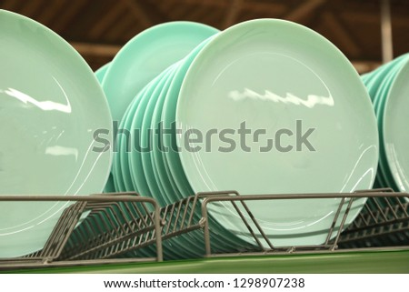 Plate and plates. Shop, supermarket, tableware shop, life, goods, household goods, cleanliness, cleaning, mug, kettle, tableware shop, brush, kitchen, clean, kettle, brush, bowl, household goods,   #1298907238