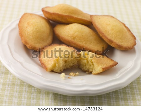 Plate of Madeleine's