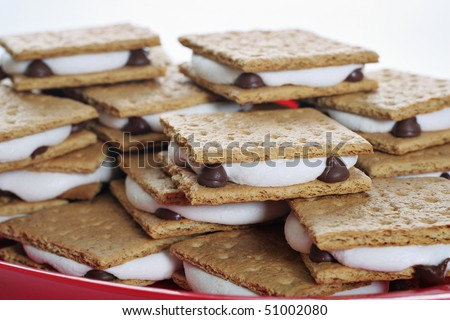 plate of smores