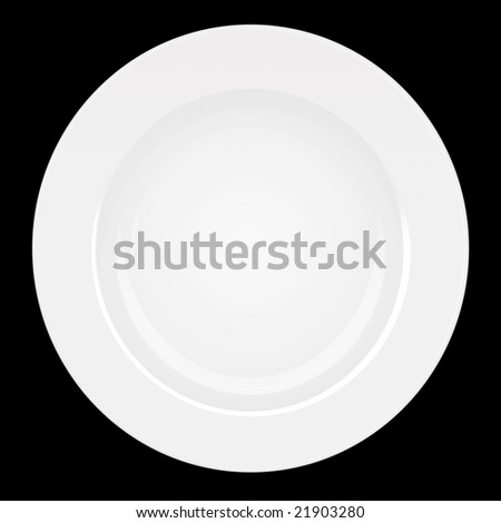 Plate (PS Rendered) - stock photo