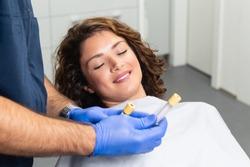 Platelet rich plasma ( PRP) therapy process.