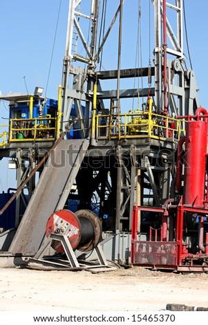 Platform on a drilling rig