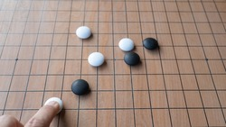 Play the Asian board game