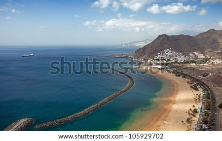 Playa de las Teresitas, Tenerife, Canary Islands
