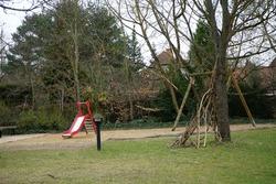 Playground for children. Berlin, Germany