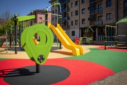 Playground in a city 2
