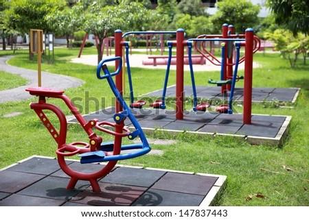 Playground in the garden