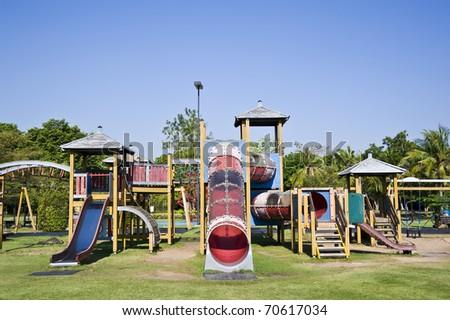 Playground Somdet Garden Chachoengsao In Thailand