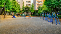 playground with many space for children
