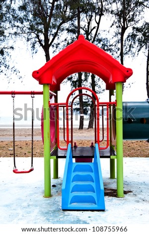 playgrounds in the garden