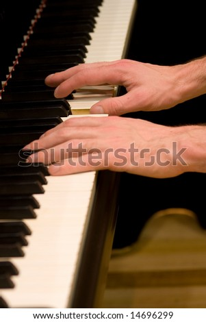Playing a Grand Piano