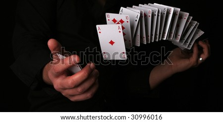 playing card trick