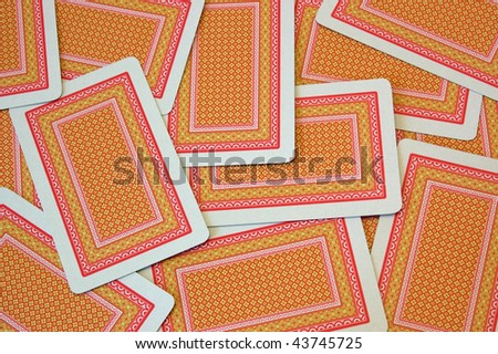 Playing cards. Photo stock ©